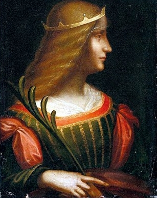 Leonardo da Vinci, which depicts Isabella d'Este